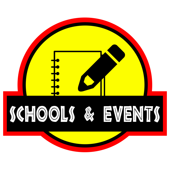 School & Events Button