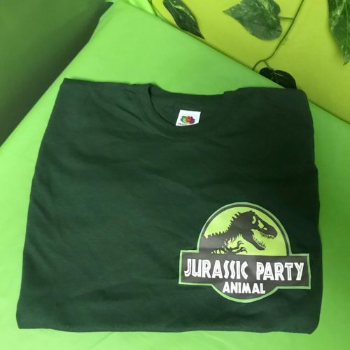Adults Dark Green Cotton T Shirt