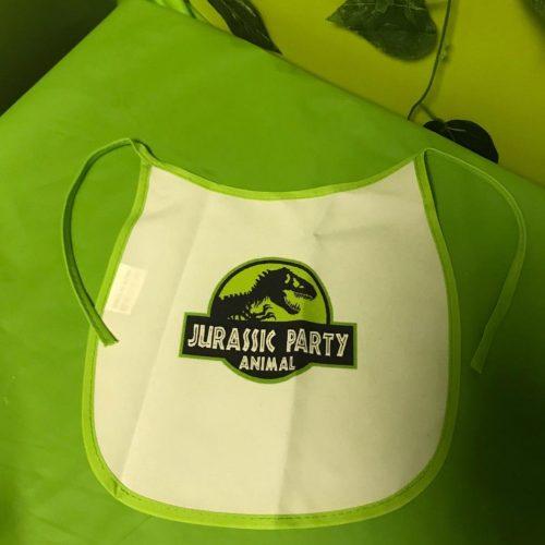 Cotton Dinosaur Baby Bib