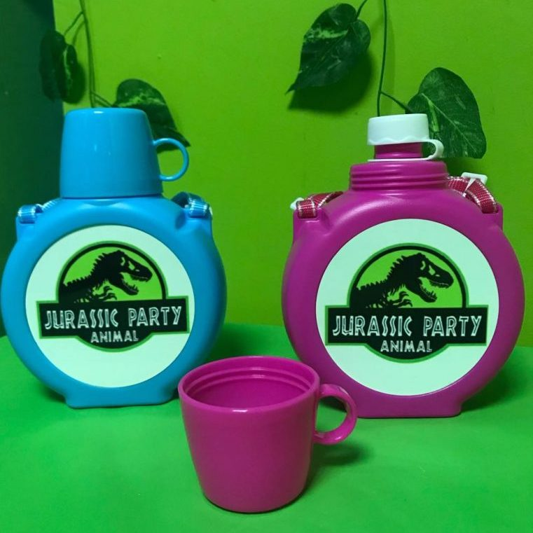 Dinosaur Drinks Flask